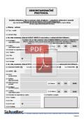 Dekontaminační protokol - formát PDF