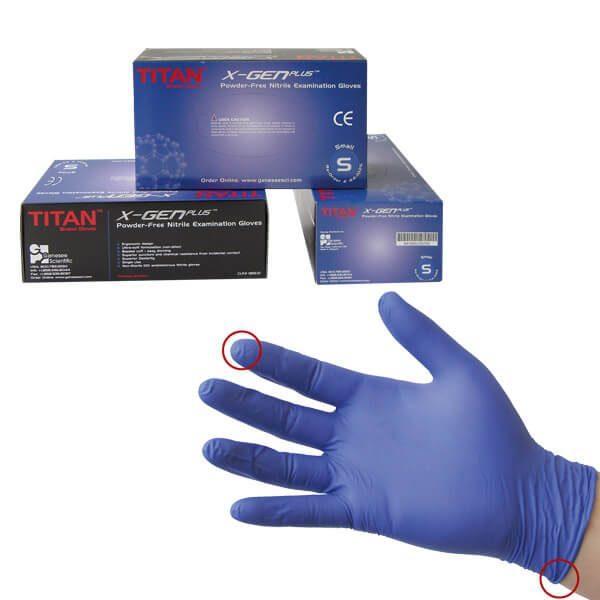 Nitrilové rukavice TITAN (GENESEE)