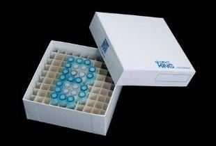 Papírová krabička 2″ do hlubokomrazicích boxů 10x10