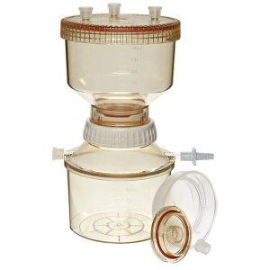 Filtrační systémy pro opakované použití se sběrnými nádobami