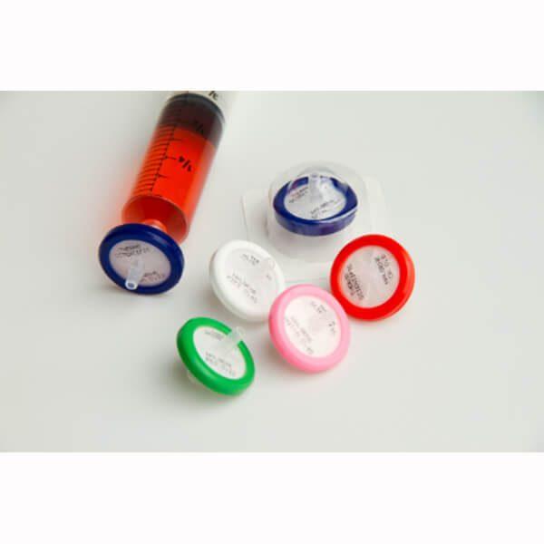 Syringe filtry nesterilní ø 25 mm, 10 - 50 ml