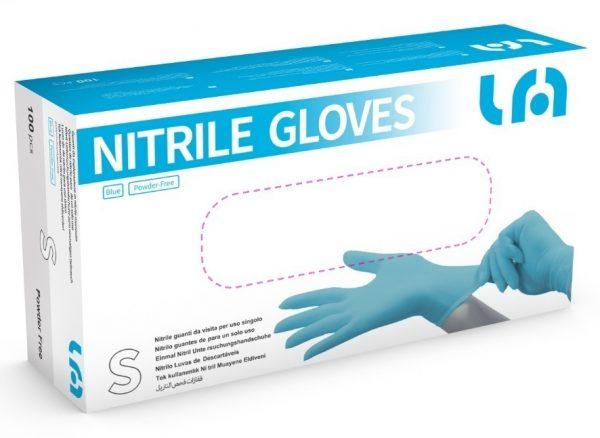 Nitrilové rukavice (Lyncmed)
